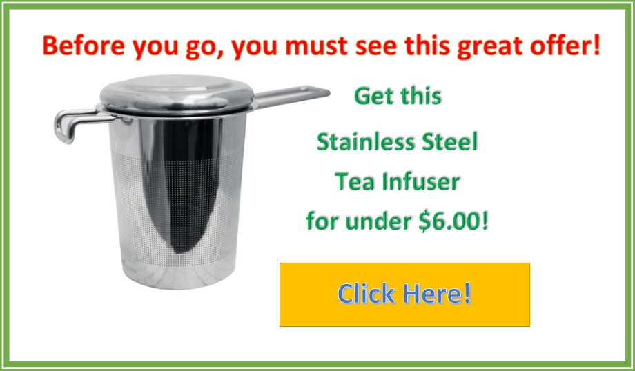 Tea Infuser Special Offer