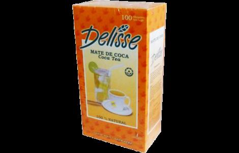Delisse Coca Tea Bags - 100-Pack